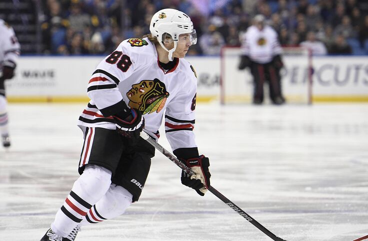 outlet store 95b00 369a0 Chicago Blackhawks: Patrick Kane to receive jersey retirement