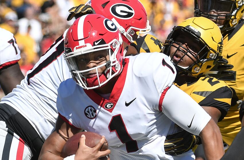 cef319561ea Some Georgia Football fans underestimate Justin Fields  character
