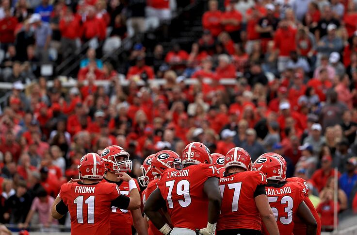 Best Offensive Lines 2020.Georgia Football Who Will Start On The Offensive Line In 2019