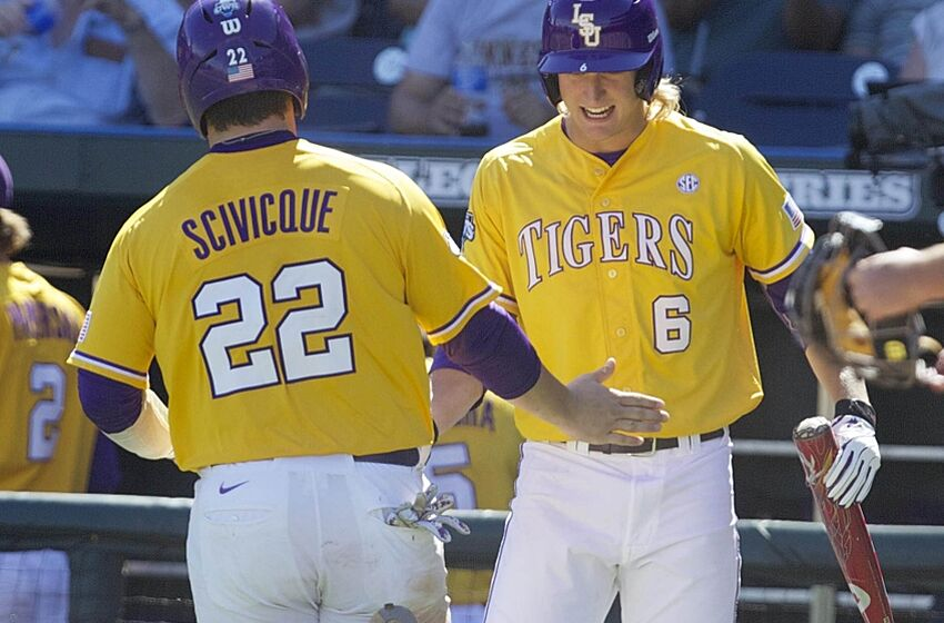 77ac8ba46 College World Series  LSU baseball vs. TCU preview
