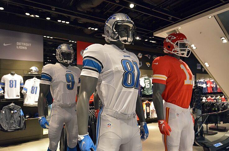 low priced d9b3e 0f41c Detroit Lions News: Color Rush Uniforms Expected Next Month