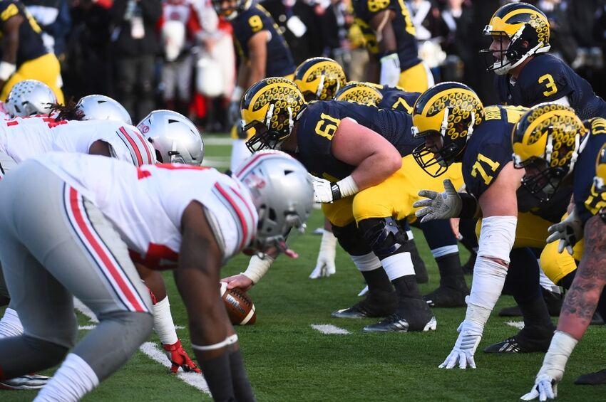 Michigan Football At Ohio State Rivalry Game Time Tv Radio Live Stream