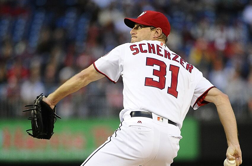 3cea4bf9 Max Scherzer Ties MLB Strikeout Record In Washington Nationals' Win Over  Tigers