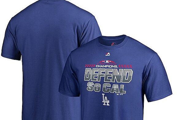 2309ba10d6636 Get ready for the Postseason with some Los Angeles Dodgers gear