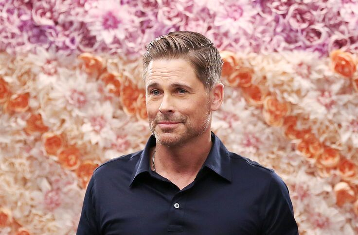 Rob Lowe introduces the two new pups joining his family to