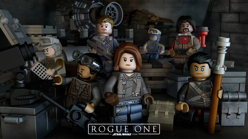 Lego Teases Rogue One: A Star Wars Story Video Game