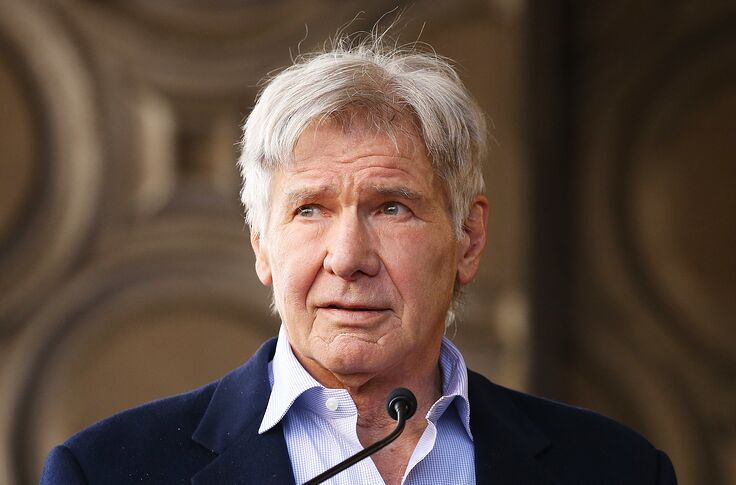 The serendipitous casting of Han Solo making Harrison Ford a movie star