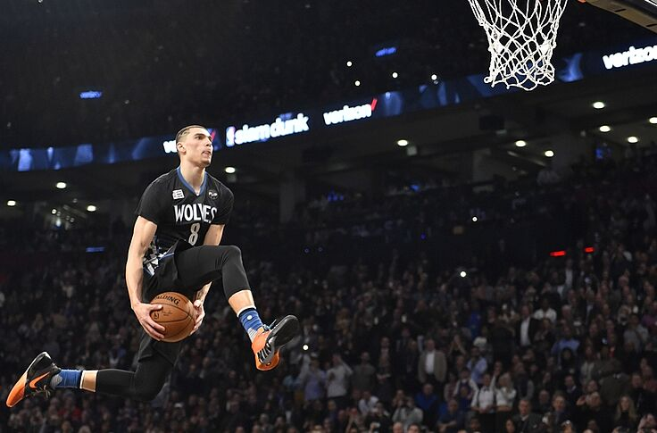 buy popular 2d47a ff17f Just how good is the Timberwolves' Zach LaVine?