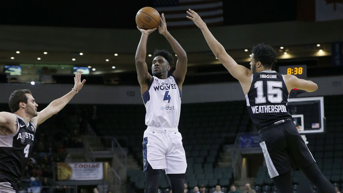 Minnesota Timberwolves: Checking in on the G League's Iowa Wolves