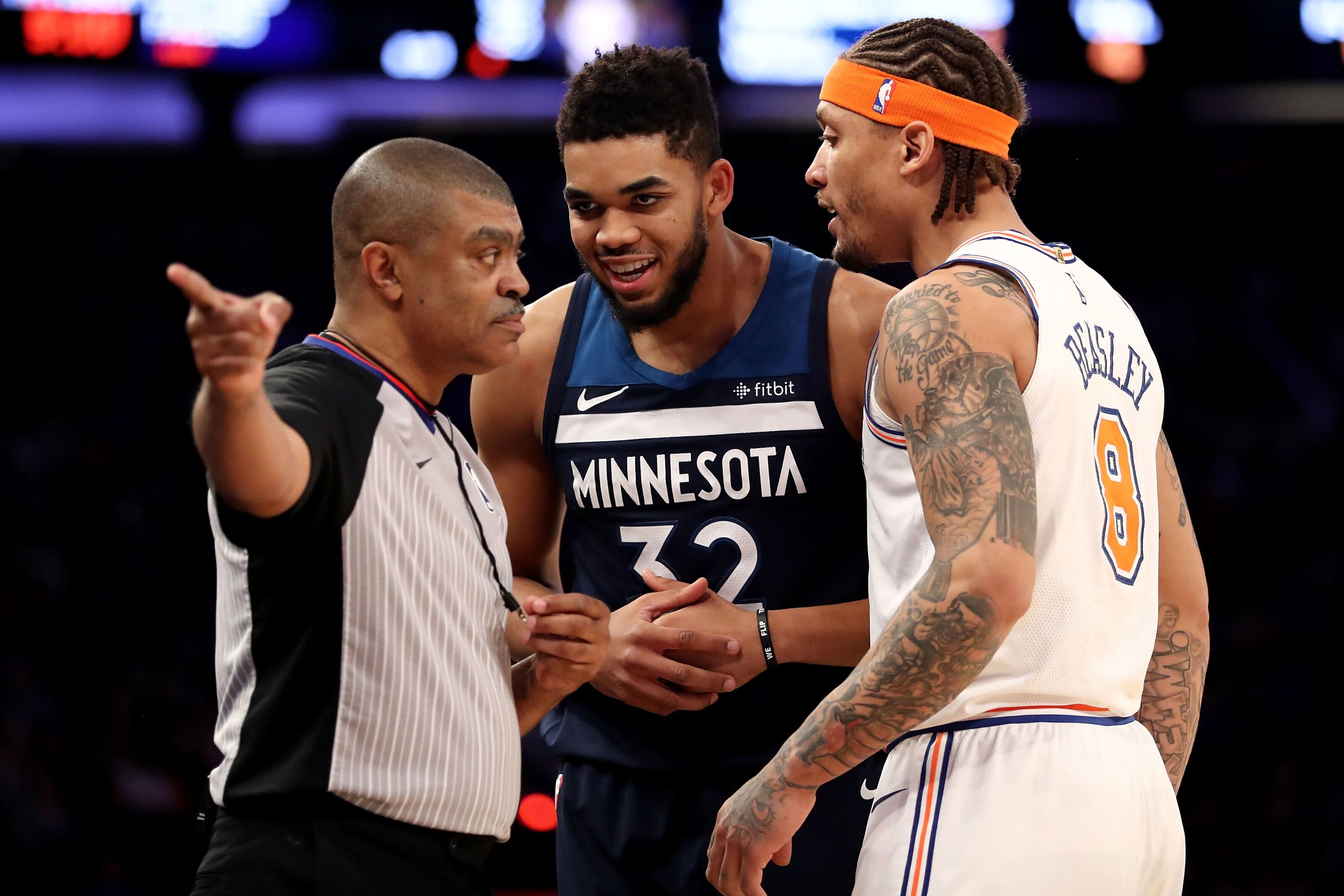 New York Ny March  Karl Anthony Towns  Of The