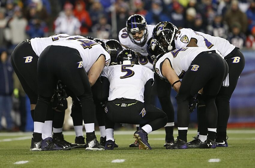 Image result for ravens huddle