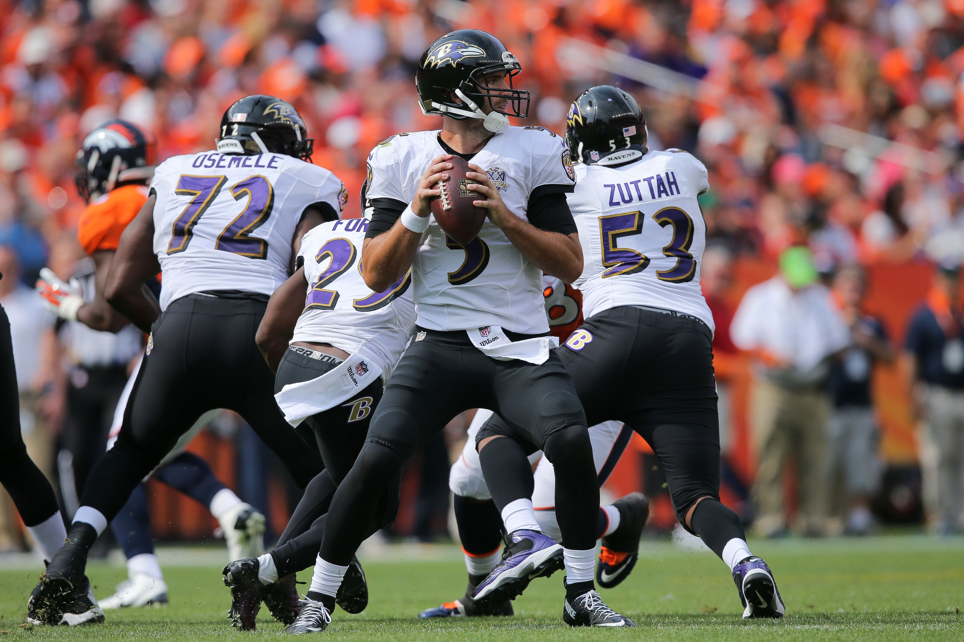 Joe Flacco is underrated but the Ravens won the trade
