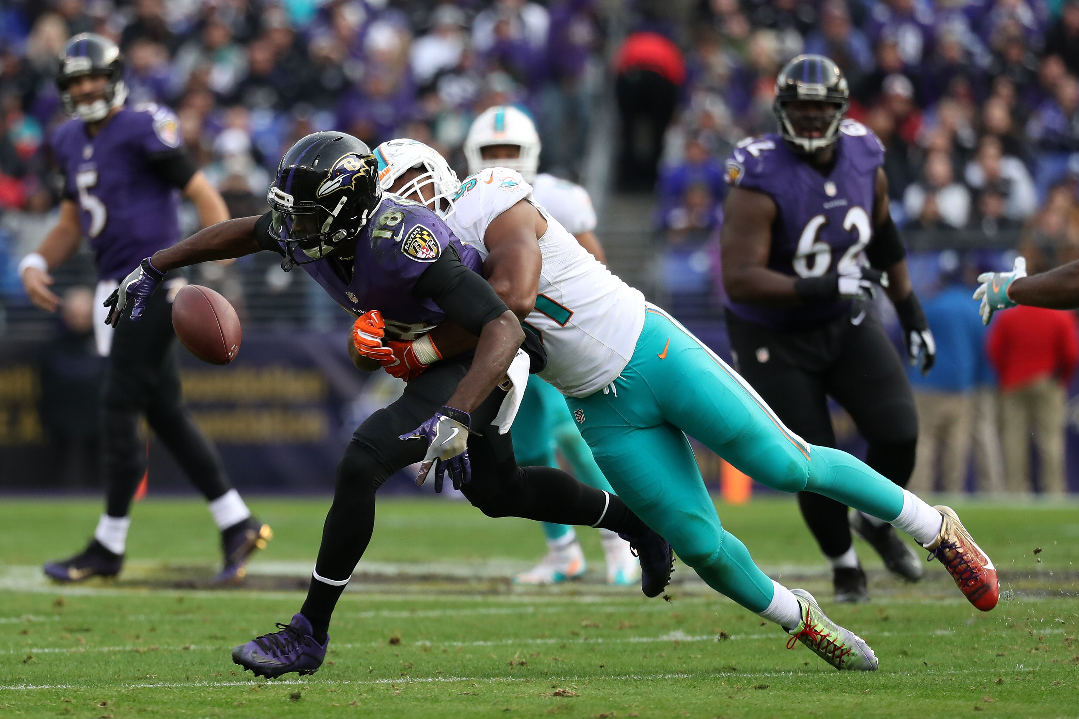 Why the Baltimore Ravens should still cut Breshad Perriman