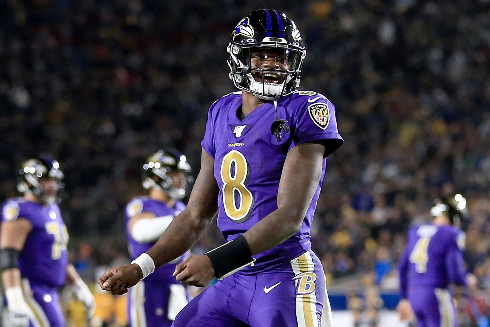 Lamar Jackson is ahead of schedule in the progression of his career