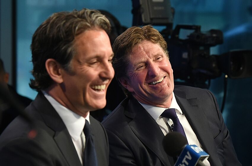 Image result for brendan shanahan mike babcock