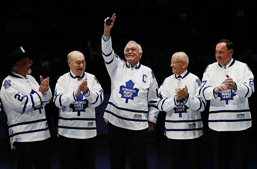4e78a28ab2c Toronto Maple Leafs Retire All Previously Honored Numbers