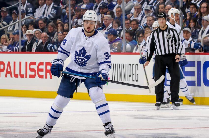 Toronto Maple Leafs  Auston Matthews Deal a Big 142951f50b7
