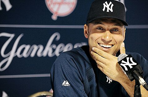 """72bbe734 The World Tips their Hats to Derek Jeter in New """"Re2spect"""" Ad"""