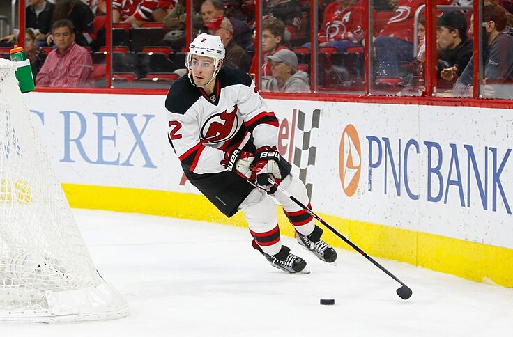 brand new 00610 cab33 New Jersey Devils News: John Moore Close to Returning