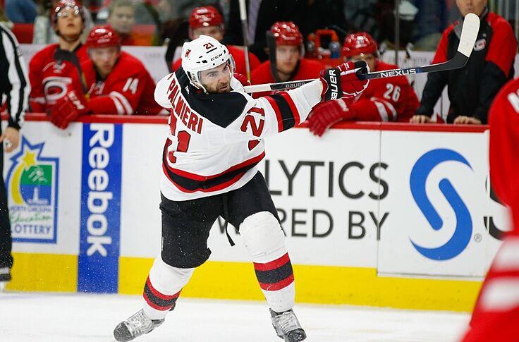 huge discount 06fb2 3af0d New Jersey Devils Rumors: Kyle Palmieri Wants to Re-Sign