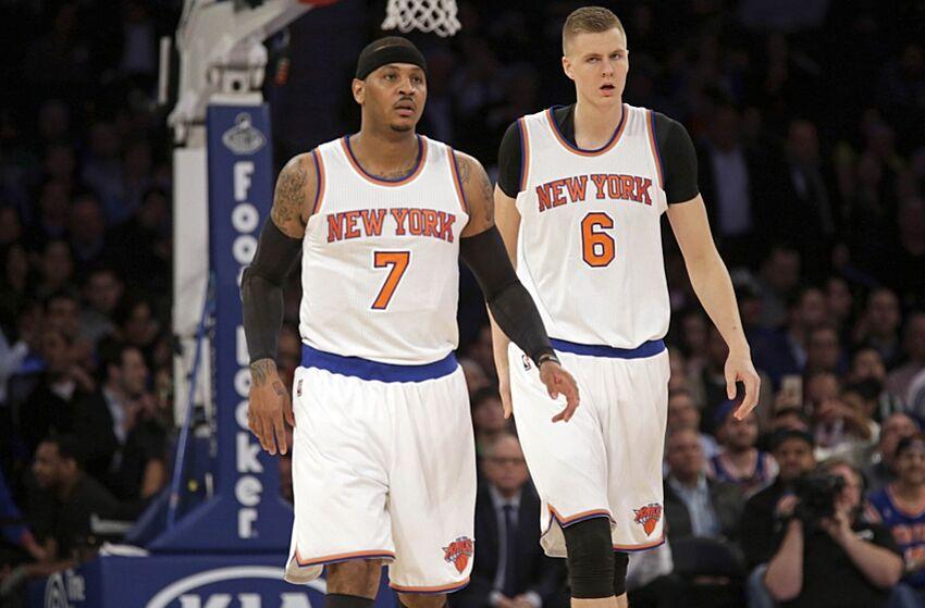 1e189b976 New York Knicks Jeff Hornacek Excited About Carmelo Anthony