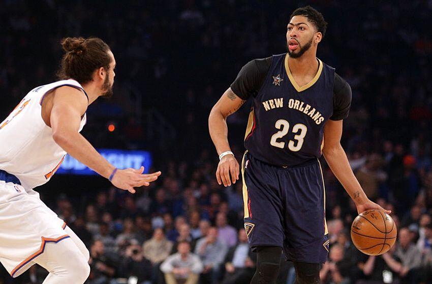 a59529793774 New York Knicks Get Dominated By Anthony Davis