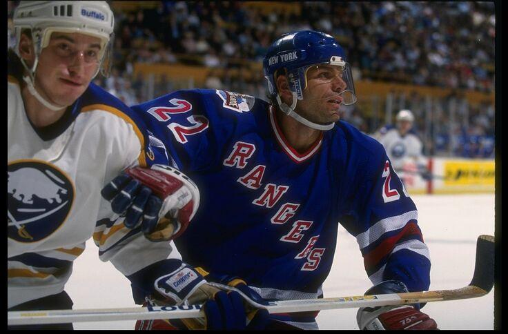 quality design eb6b6 5547e New York Rangers Flashback: Mike Gartner delivers a hat ...