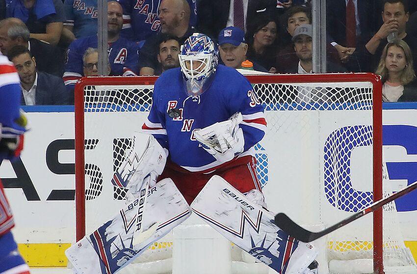 New York Rangers. Henrik Lundqvist (Photo by Bruce Bennett Getty Images) b58c26dc1