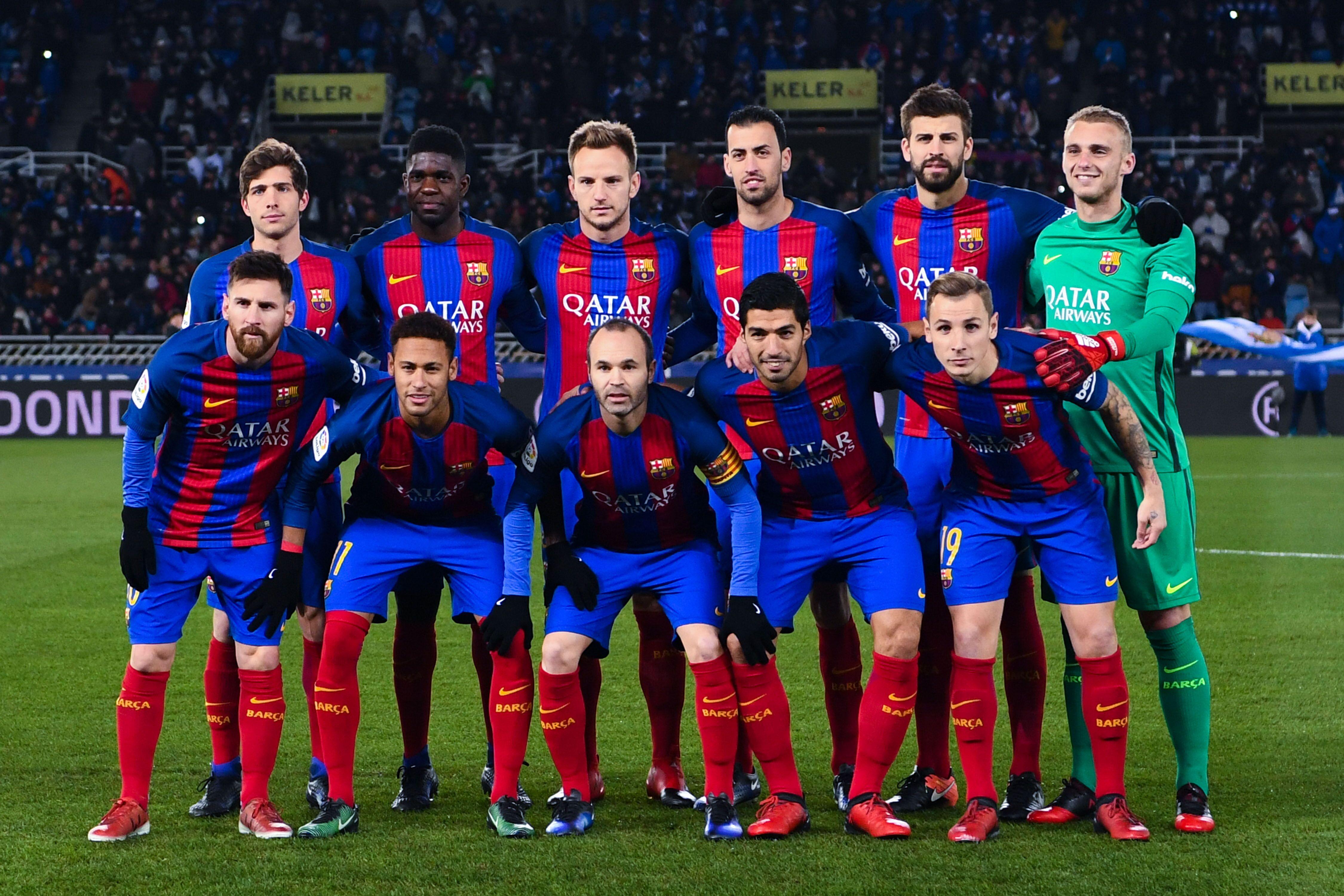 Fc Barcelona Host Real Sociedad In The Copa Del Rey Quarter Final