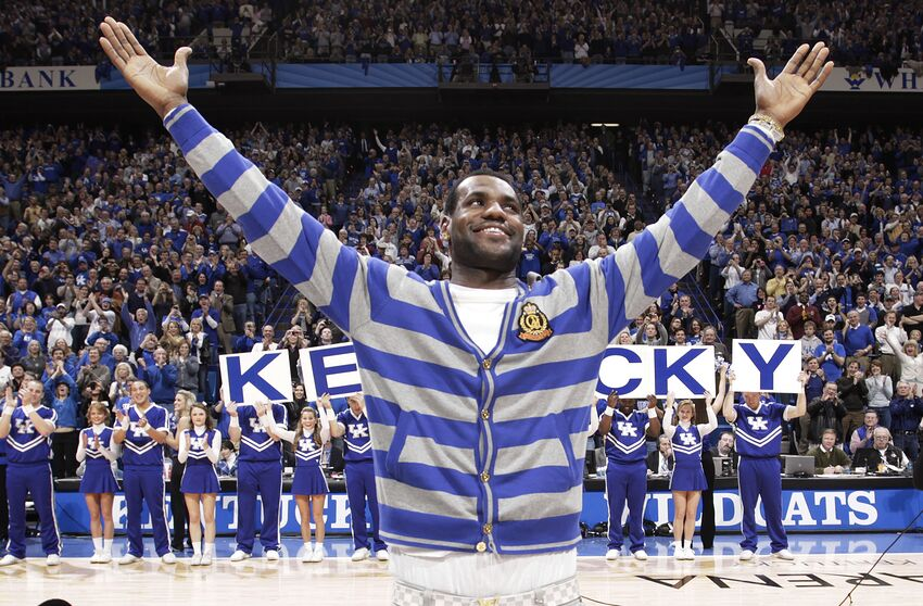Image result for lebron kentucky