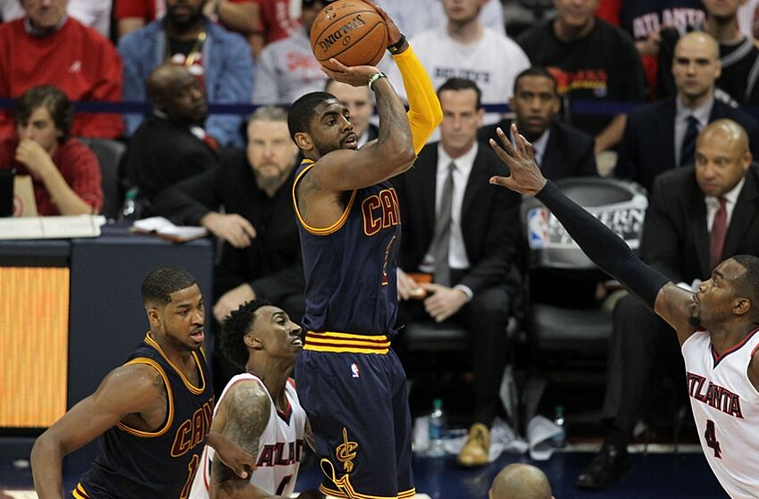 2a3213d52ceb May 20, 2015; Atlanta, GA, USA; Cleveland Cavaliers guard Kyrie Irving