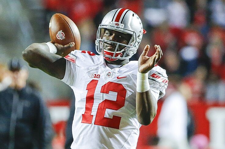 the best attitude f1a73 59b55 Cardale Jones: Ohio State QB Should Not Have Declared