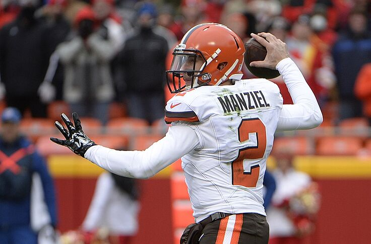 official photos 2a4ff ae60d Cleveland Browns: No Johnny Manziel Jersey Exchange