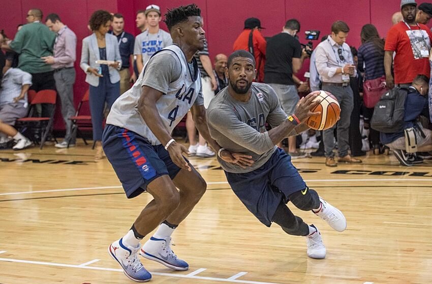 bcbd5c995762 Watch  Kyrie Irving Puts On Show At USA Basketball Practice