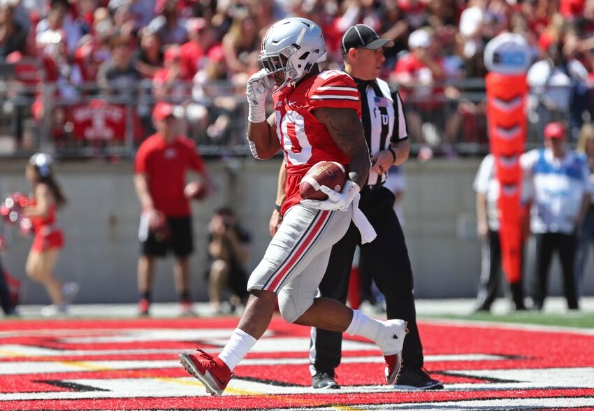 Ohio State Football Mike Weber The Next Carlos Hyde