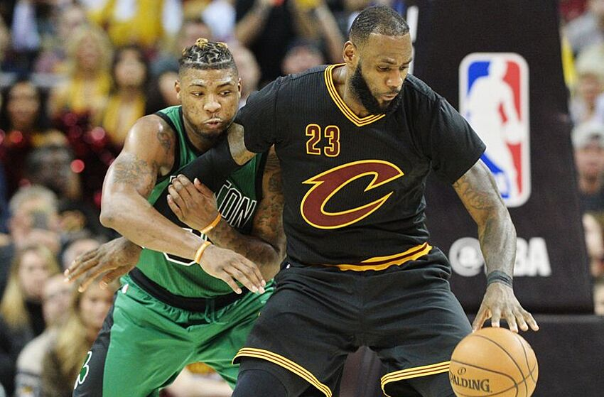 433347db728b LeBron James Give Himself An F Against Boston Celtics