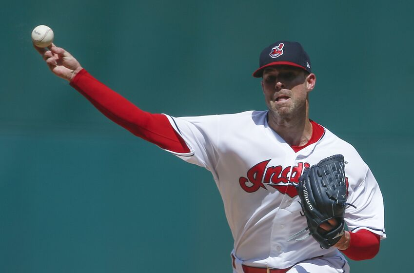 8b202f2a971 Cleveland Indians Corey Kluber (Photo by Ron Schwane Getty Images)