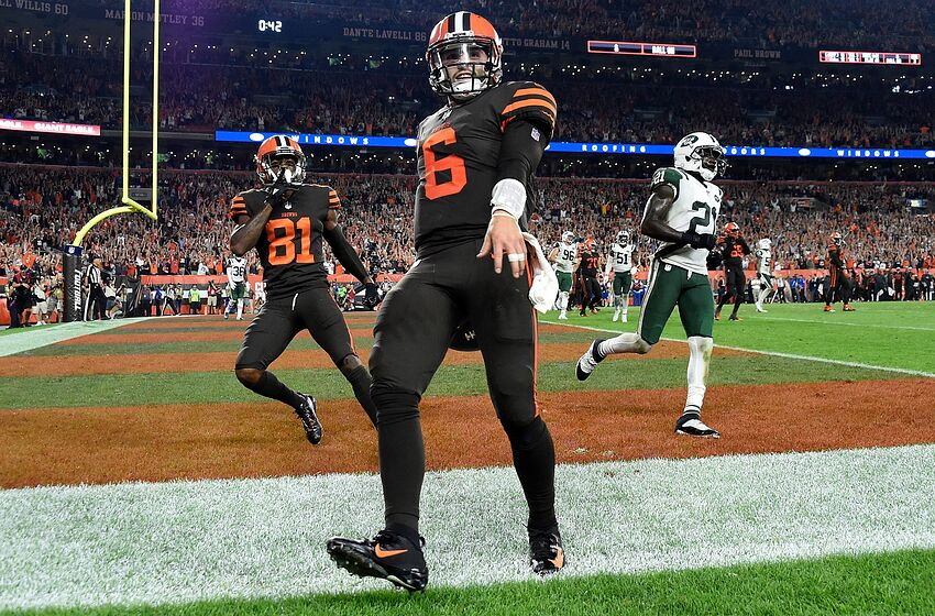 abc326e1 Cleveland Browns Baker Mayfield (Photo by Jason Miller/Getty Images)