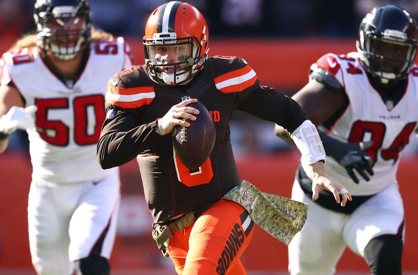 114737ba50ca Cleveland Browns Baker Mayfield (Photo by Gregory Shamus Getty Images)