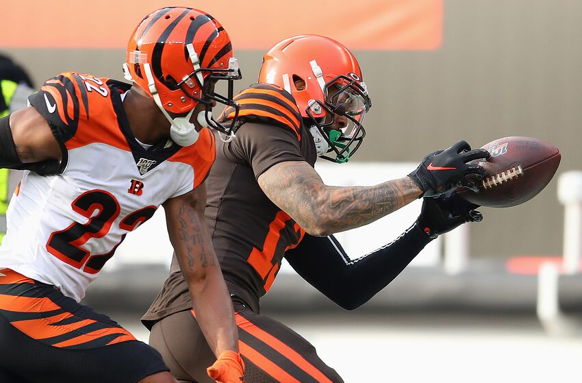 Cleveland Browns Odell Beckham (Photo by Gregory Shamus/Getty Images)