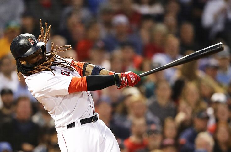 superior quality e8fd7 95022 Cleveland Indians: Hanley Ramirez has chance to make roster