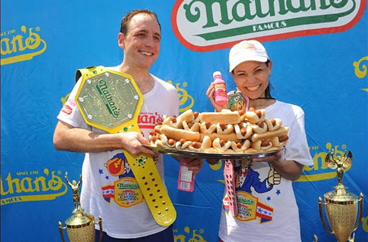 Nathan S Hot Dog Eating Contest 2014 Re Watch Joey Chestnut