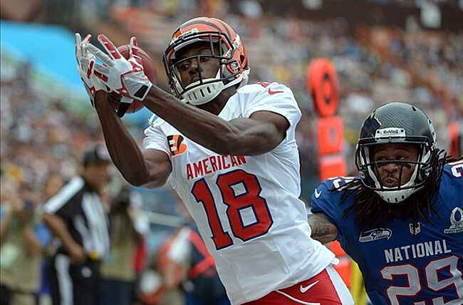 detailed look 74b11 bc7d7 A.J. Green will likely play limited snaps on Saturday