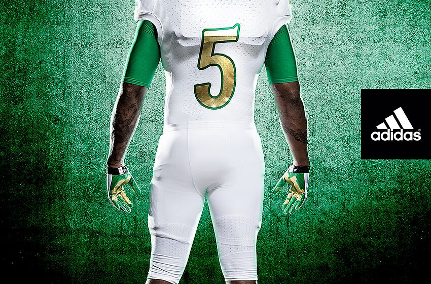 b48ce0c9c Notre Dame 2013 Shamrock Series uniforms (Photo)