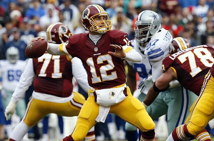 sports shoes f8f24 ae919 Kirk Cousins switches Washington Redskins jersey number ...