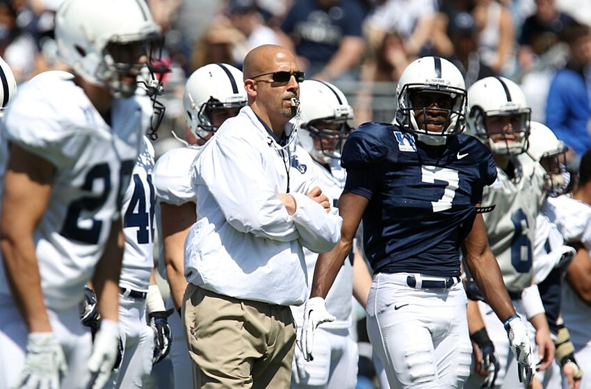 Apr 12, 2014; State College, PA, USA; Penn State Nittany Lions