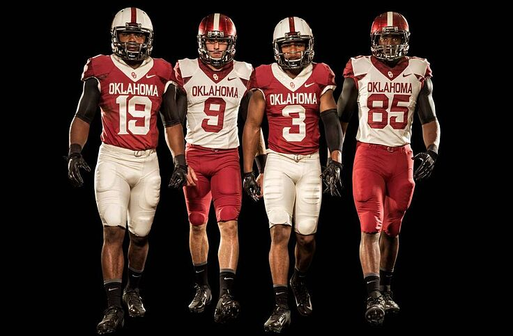 new style 20d9a 53329 Oklahoma Sooners unveil new alternate uniforms