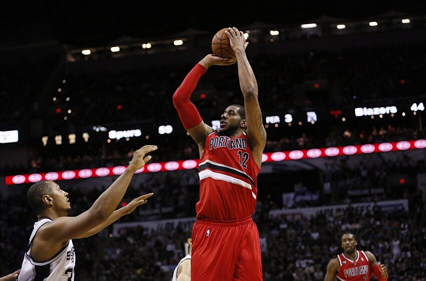 ad9e6a69cf2 Lamarcus Aldridge   I want to be the best Blazer. Ever.