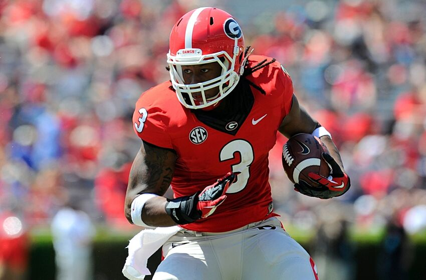 Todd Gurley receives lofty praise from Georgia Bulldogs legendary RB  Herschel Walker 418b3b897