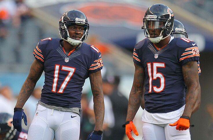 new product c5ffb a9e45 Brandon Marshall joins 'Inside the NFL' as analyst
